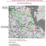 Tipikate rattamatka kaart Peipsi äärealadel ja Setumaal